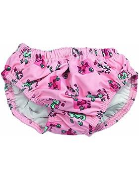 Fashy Girl's Nappy - Pantalones para niña, tamaño Large(86 / 92), multicolor