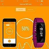 Fitness-Tracker-Aupalla-21BPP-Activity-Tracker-Smart-Band-versione-femminile-funziona-con-misuratore-di-pressione-sanguigna-e-cardiofrequenzimetro-femmina-periodo-Track-contapassi-sonno-monitor-GPS-Tr