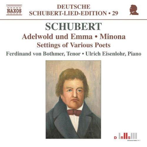 Franz Schubert: Settings Of Various Poets