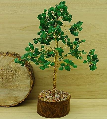 Reikiera Green Onyx Tree Feng Shui Reiki Healing Stone Spiritual