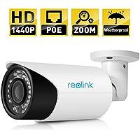Reolink-411 AutoFocus IP Camera 4MP HD 1440P POE,P2P, Security 4X