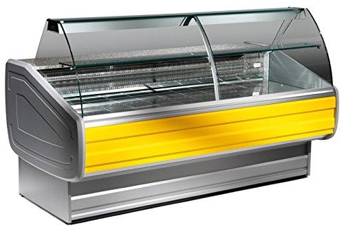 Kühlvitrine mit gebogener Frontscheibe, 230V, 0,649 kW,