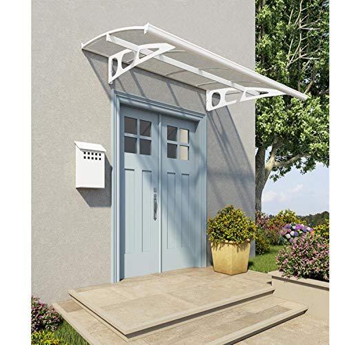 Palram Vordach, Regenschutz, Überdachung Bordeaux 2230 inkl. Regenrinne // 223x139 cm (BxT) // Pultvordach und Türüberdachung