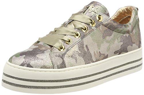 Maripe Damen 26245 Sneaker Mehrfarbig (Burma Military 1055 Fog) 39 EU