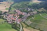 MF Matthias Friedel - Luftbildfotografie Luftbild von Häfnerstraße in Sachsenheim (Ludwigsburg), aufgenommen am 06.08.09 um 12:29 Uhr, Bildnummer: 5436-62, Auflösung: 6048x4032px = 24MP - Fotoabzug 50x75cm