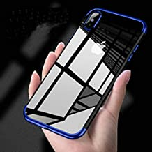 iphone x coque bleu