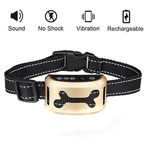 Hunde trainingshalsband für kleine und mittelgroße Hunde mit Ton- &Vibration Mothca Kontrolle von übermäßigem Bellen Tierfreundliches Erziehungshalsband Ferntrainer für Hundegebell Anti-Bell Halsbänder Vibrations Halsband - Sicher Keine Schmerzen (Alaskan Macht Malamute Hund)