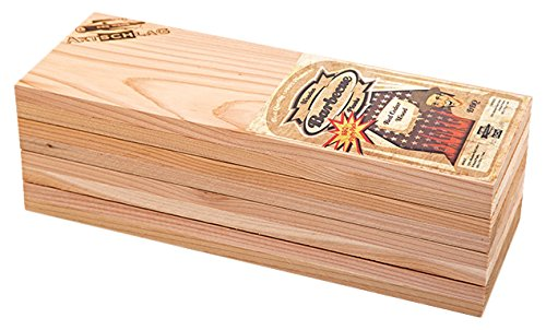 Axtschlag Räucherbretter, Western Red Cedar, 8er Party Pack Grillbretter, Holz 300 x 110 x 11 mm