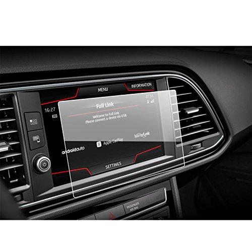 LFOTPP Schutzfolie für Seat Leon X-Perience (2015-2017) 8 zoll Navigationssystem Plus