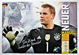 Just Kick it Wendeposter 81 x 54 cm Manuel Neuer & Toni Kroos DFB WM 2018