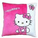 Hello Kitty Cushion, White/Pink (35x35cm)