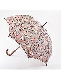 Cath Kidston–British Birds gris Walking Kensington paraguas