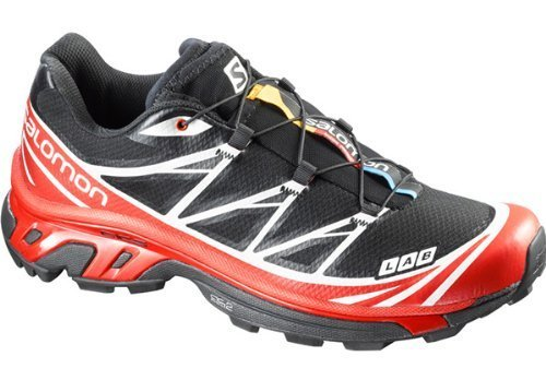 SALOMON S-Lab XT 6 Softground Unisex Trail Running Shoes, Black/Red, UK6