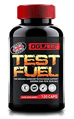 TEST FUEL   The Original Hardcore Testosterone Booster   Test Booster - Support Muscle & Strength   120 Capsules by OG Labs