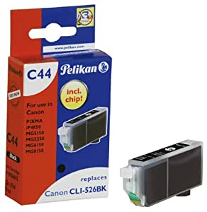 Pelikan C44  Cartouche compatible pour Canon CLI 526 9ml Noir