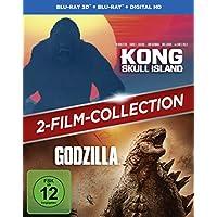 Kong: Skull Island + Godzilla 2-Film-Bundle / Double Feature