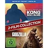 Kong: Skull Island + Godzilla 2-Film-Bundle / Double Feature [3D Blu-ray] (exklusiv bei Amazon.de)