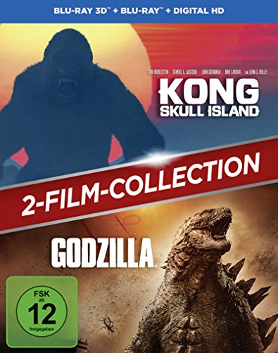 Kong: Skull Island + Godzilla 2-Film-Bundle / Double Feature [3D Blu-ray] (exklusiv bei Amazon.de) [Limited Edition]