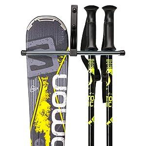 happinessshipping Skihalterung Skihalter Skiwandhalter Skiträger Skiaufbewahrung