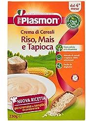 Plasmon Oasi Nella Crescita, Crema di Cereali dal 4 Mese - 1 Scatola