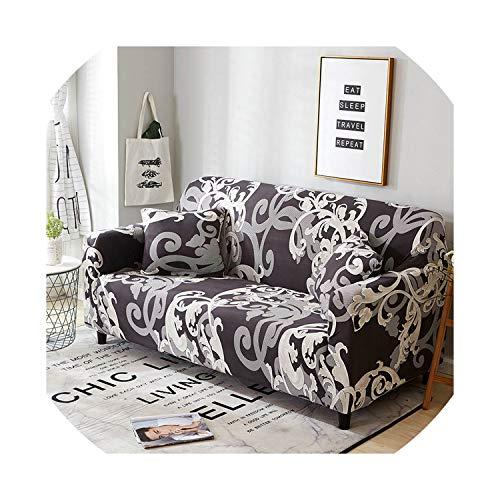 azalea store Beige Sofa-Abdeckung Stretch Möbelbezüge Elastic Sofabezüge für Wohnzimmer Slipcovers für Sessel Couch Abdeckungen, Farb 5,4-Seater (235-300cm)