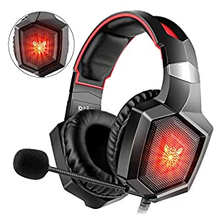 Willnorn Gaming Headset für PS4, Xbox One, PC