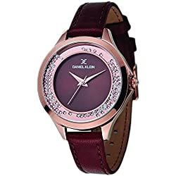Daniel Klein Analog Brown Dial Women's Watch-DK11329-3