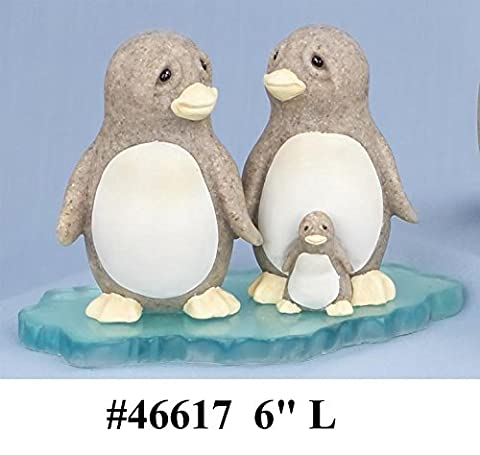 Granite Resin Quarry Critter 46617 Family Time by Second Nature Design Retired, No Longer Available by Quarry Critter