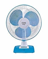 V-Guard Wingz Table Fan ( Blue & White )