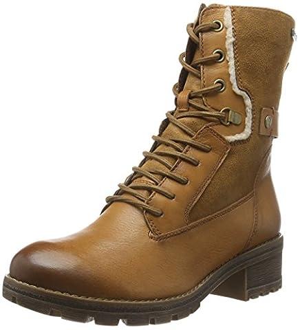 Tamaris Damen 26225 Combat Boots, Braun (Camel 310), 39 EU
