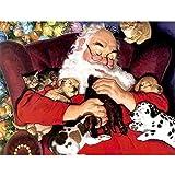 Felicove Weihnachten Diamant Malerei, Strass eingefügt Stickerei Malerei Kreuzstich Home Decor