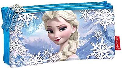 Princesas Disney 134-51385 - Portatodo Triple Plano Frozen Heart Disney por Montichelvo Industrial