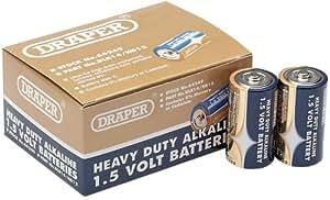 Draper 64249 C Size Heavy Duty Alkaline Batteries (Trade Pack of 12)