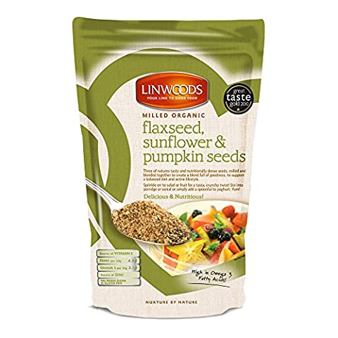 Linwoods Milled Organic Flaxseed, Sunflower & Pumpkin