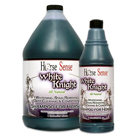 Double K Horse Sense White Knight Shampoo Stain Removing Deep Cleaning Liter
