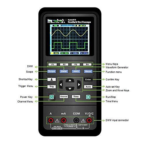 Hantek PC basato USB2.0/digitale oscilloscopio e generatore di forme d onda arbitrarie 4/CH 250/MHz 1/GSa//s bit 64/K