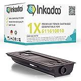 Inkadoo Toner kompatibel zu Triumph-Adler DC 2120, 611610010, Premium Drucker-Kartusche Alternativ, Schwarz, 18000 Seiten