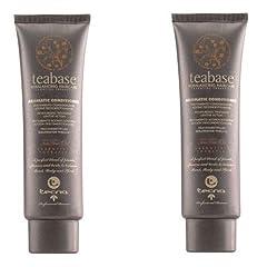 Idea Regalo - Tecna teabase aromatherapy aromatic conditioner DUO PACK 2 x 150ml Condizionatore per capelli professionale 300 ml PROMOZIONE SPEDIZIONE GRATUITA