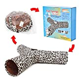 Pawz Road Luxus Katzentunnel im Leoparden-Design, 55*25 cm -
