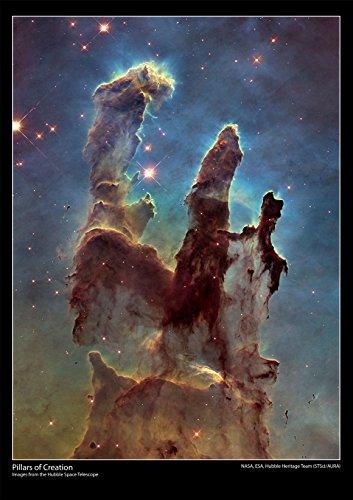Telescopio espacial Hubble Póster–Pilares creación–tamaño