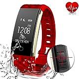 Best Relojes de pulsera AGPtek - Fitness Tracker Monitor de frecuencia cardíaca rastreador de Review