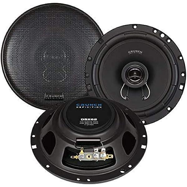 Crunch Dsx 62 Lautsprecher Für Ford Focus 1 Typ Mk1 Elektronik