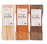 Buttacup Treillis en bois 180 x 30 cm - naturel