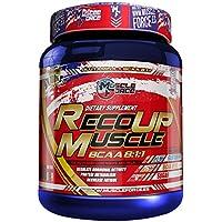 Muscle ForceReco-Up  8:1:1 - Recuperador Muscular En Polvo A Base De Aminoácidos, Sabor A Bayas, 500 gr