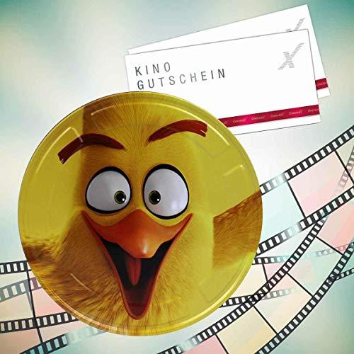 Angry Birds CinemaxX Filmdose Chuck Double mit 2 Kinogutscheinen