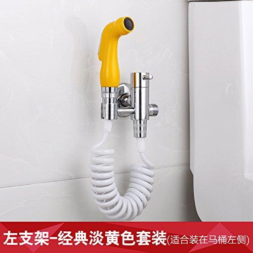 GFEI pleine de cuivre angle valve, toilettes pistolet fixé / vanne à trois voies, booster buse, irrigator,b