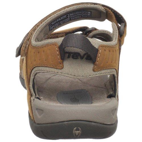 Teva W Tirra Leather, Chaussures d'Athlétisme Femme Marron (Rustique Rust)