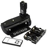 DSTE Pro IR Remote BG-E7 Vertical Battery Grip For Canon EOS 7D SLR Digital Camera As LP-E6 LP-E6N