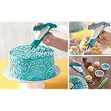 lescorecor (TM) nueva novedad Cake Crema pluma decoración flores diseño DIY Hornear y repostería herramientas limpias pluma reutilizable molde
