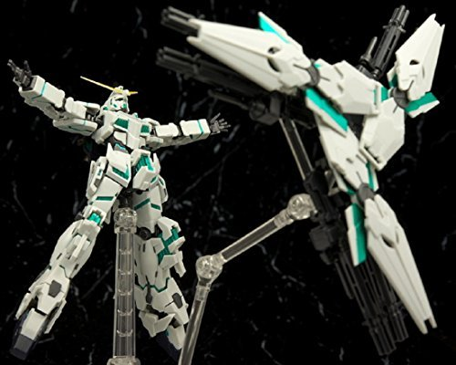Gundam Roboter Unicorn (RX-0 Unicorn Gundam with Shield Funnel Tamashii Nations Robot Tamashii SIDE MS by Bandai)